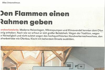 Ofenbau in Innsbruck und Tirol - Öfen und Kaminsysteme