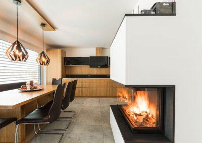 Moderner Ofen - Ofenbau Kiechl Innsbruck Tirol