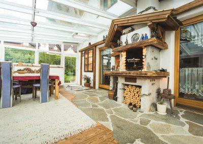 Gemauerter Grill - Ofenbau Kiechl Innsbruck Tirol